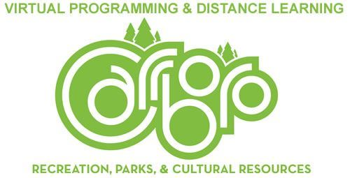 Rec and Parks Virtual Learning graphic